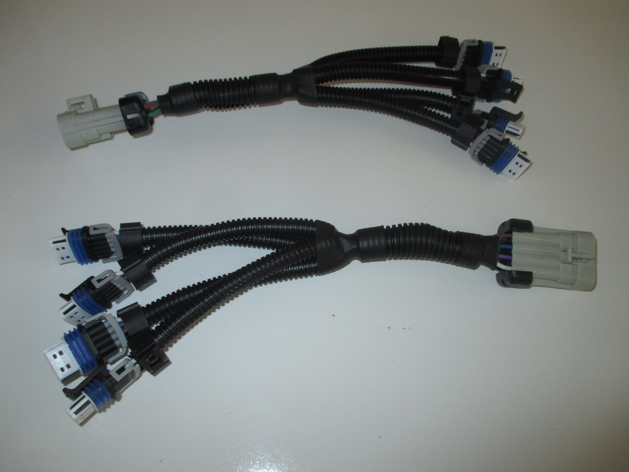 fuel injector adapters lq4 lq9 truck chevy gm gmc delphi ... chevy lq4 wiring harness #7