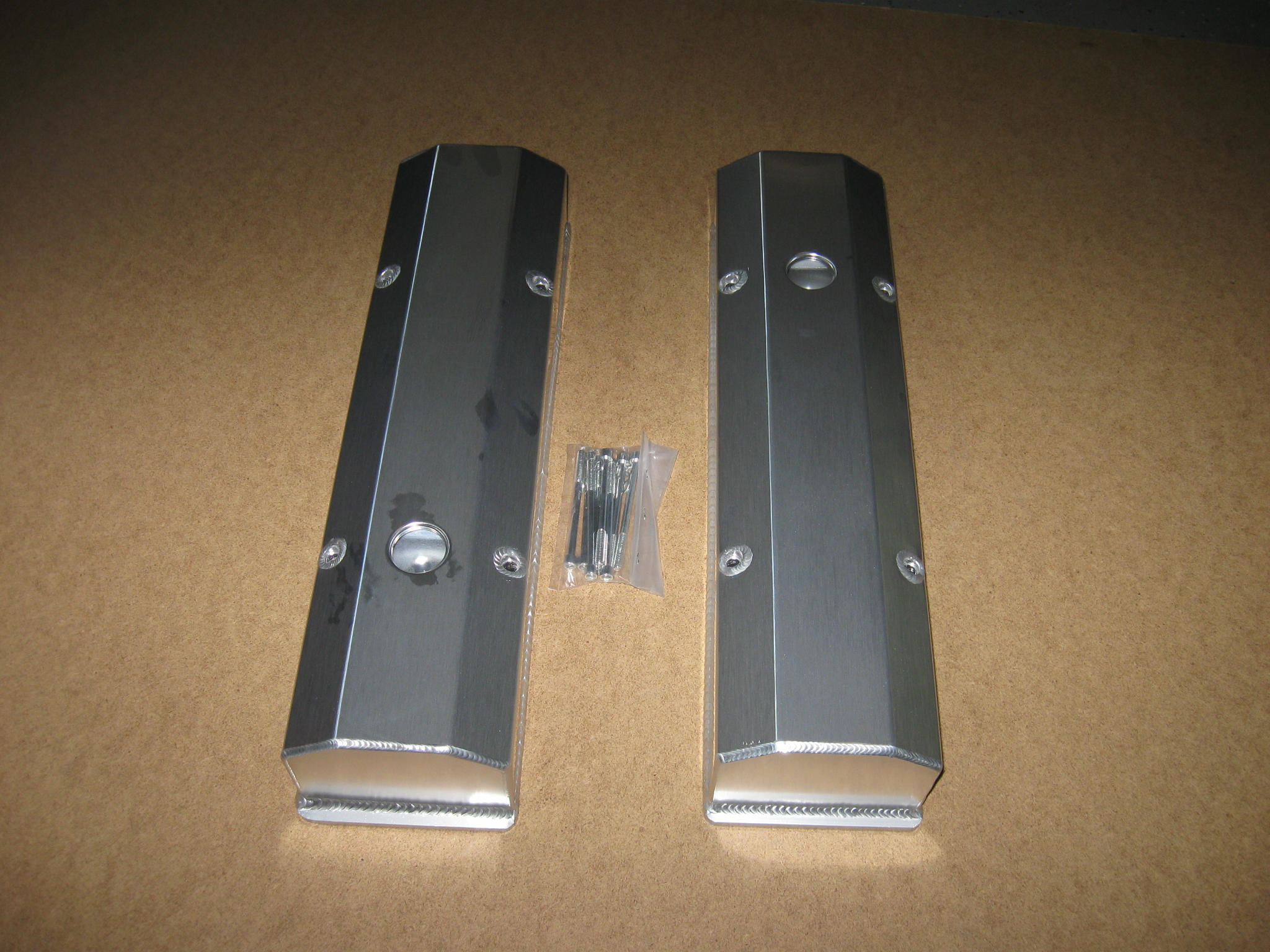 Small Block Chevy Tall Fabricated Valve Covers