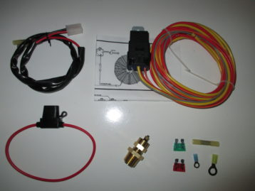 modified gm drac to adjust for different tires gear ratios tbi electric fan wiring harness kit temp sensor 185 on 165 off
