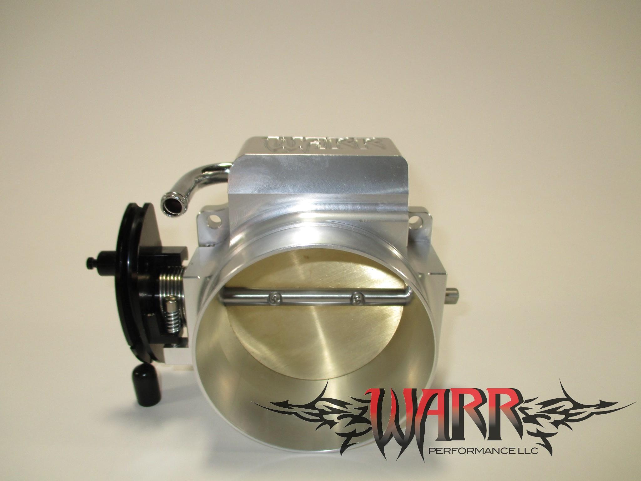 92mm LS Throttle Body - 4 Bolt Aluminum- LS1 LS2 LS3 LS6 LSX