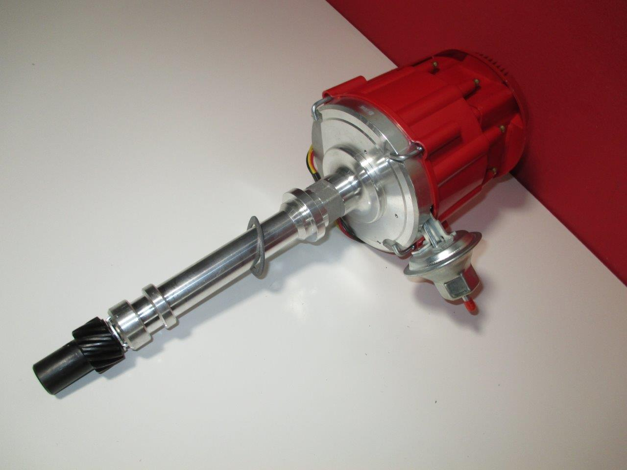 Hei Chevy Bb Sb Distributor W 65k Volt Coil Red Super Cap Warr