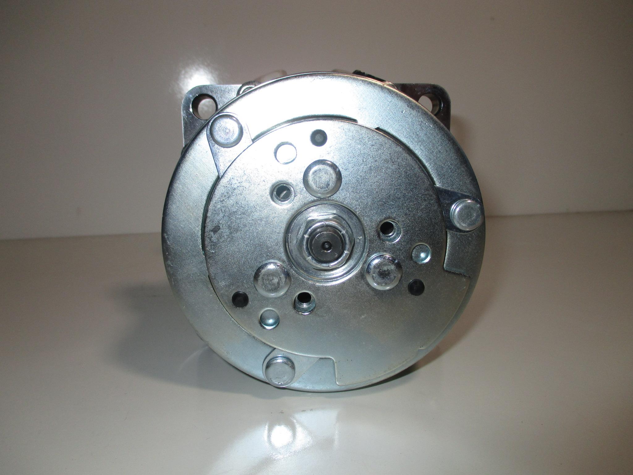 Air Compressor Serpentine Belt : Sanden style air conditioning compressor serpentine