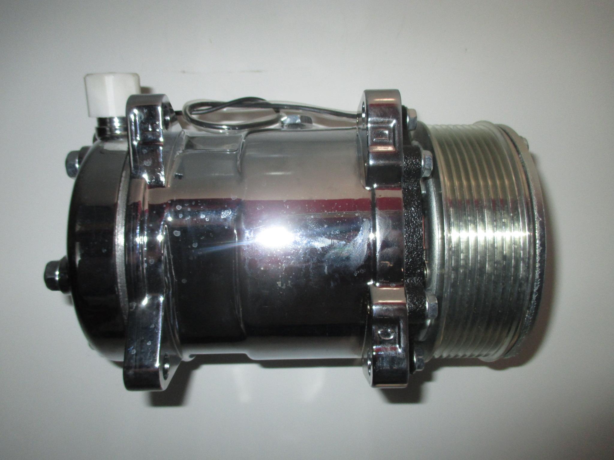 Sanden 508 Style Air Conditioning Compressor Serpentine