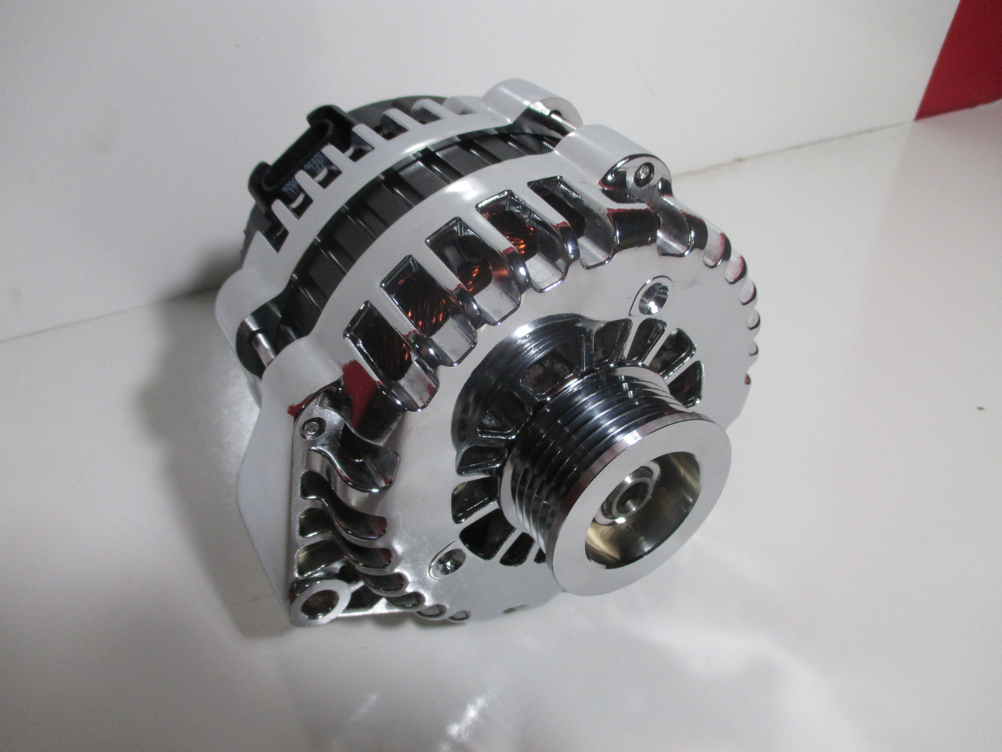 Ls 4 Pin Style Alternator Pigtail 22 Single Wire Warr Automotive Wiring Harness Pigtails High Output Gm F Body Ls1 Or Trucks 180 Amp Chrome Cs130d