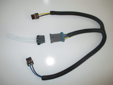 gm dual cooling fan harness and pigtail for f body style fans and similar ls1 Ventilation Fan Wiring