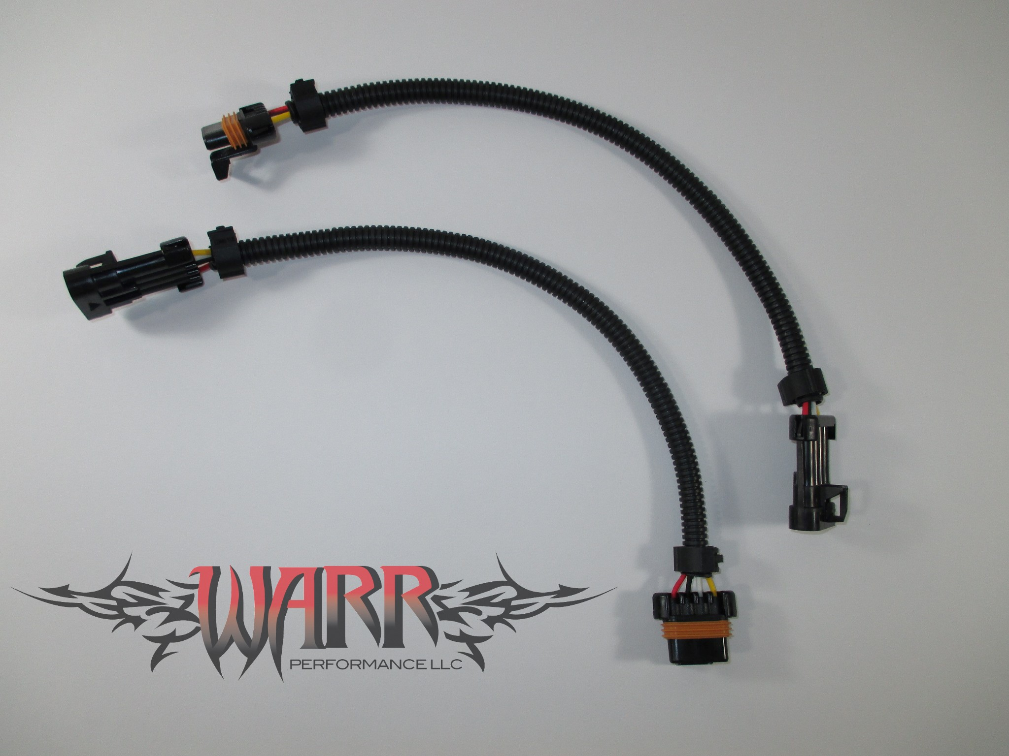 IMG_4879w two 12\u2033 gm ls1 oxygen o2 sensor extension harnesses 4 wire flat oxygen sensor extension harness at gsmx.co