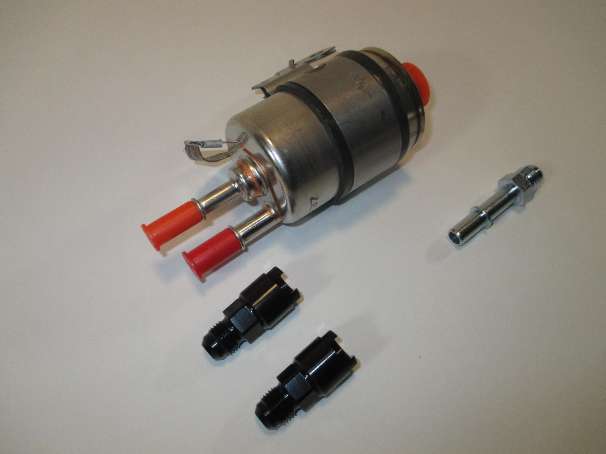 ls1 fuel filter regulator kit engine swap for returnless fuel rails rh warrperformance com