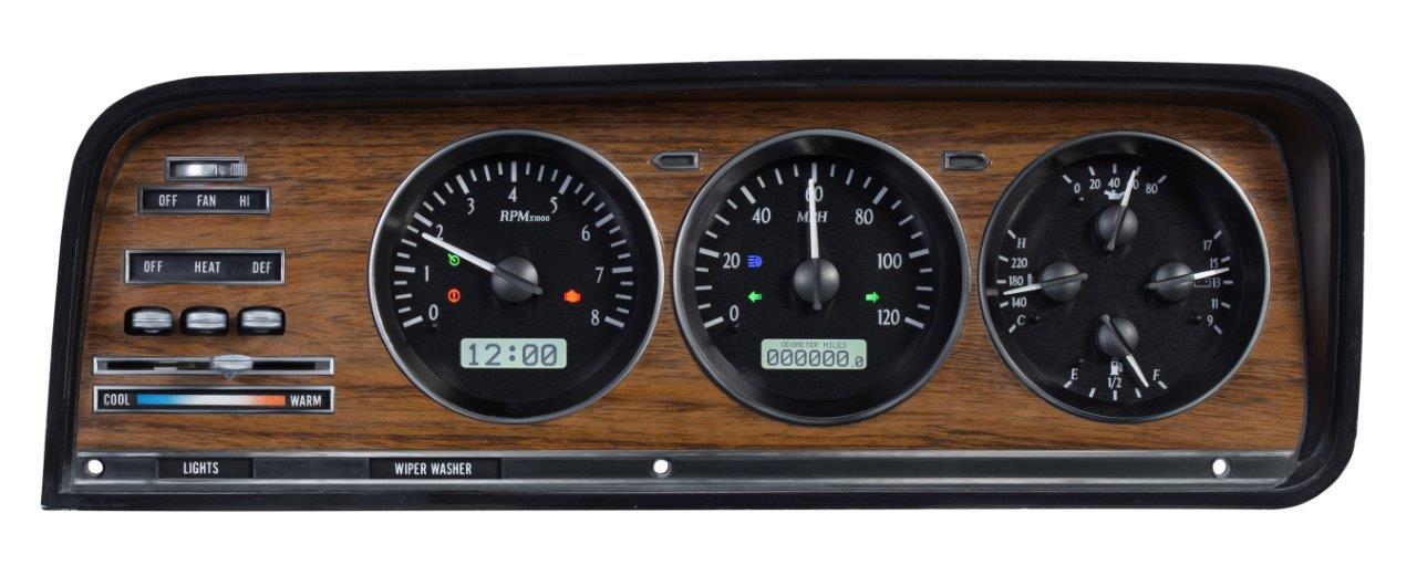 Dakota Digital Jeep Wagoneer Gauges 197385 Vhx73jwag – Warr