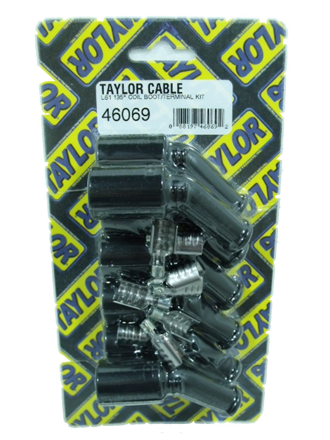 Taylor Street Thunder Ignition Wire Set Universal And Ls Coil Pack Harness Terminals 180 Deg 8mm Black