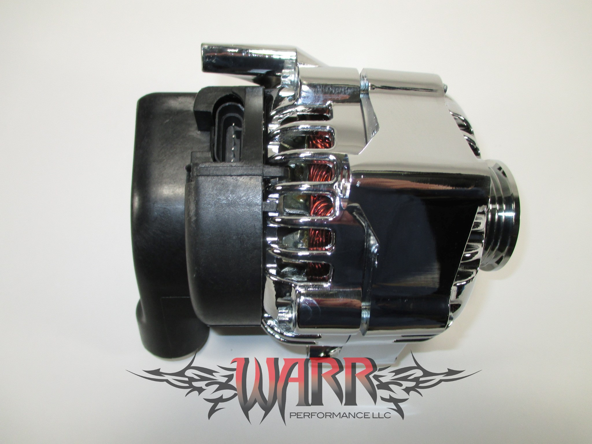 high output gm alternator – f body ls1 ls6- 180 amp chrome ... gm g body ls1 starter wiring #13