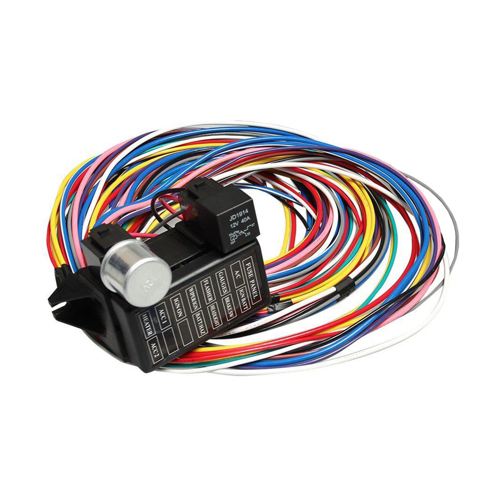 wrg 3813] chassis wiring harness